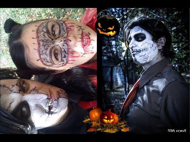 Фотосессия и мейкап - Дети Хеллоуина / Photoshoot and make-up - Kids Halloween ♥ Reneya FEV » Freewka.com - Смотреть онлайн в хорощем качестве