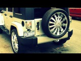 jeep wrangler unlimited 24s jeep wrangler sahara dubs