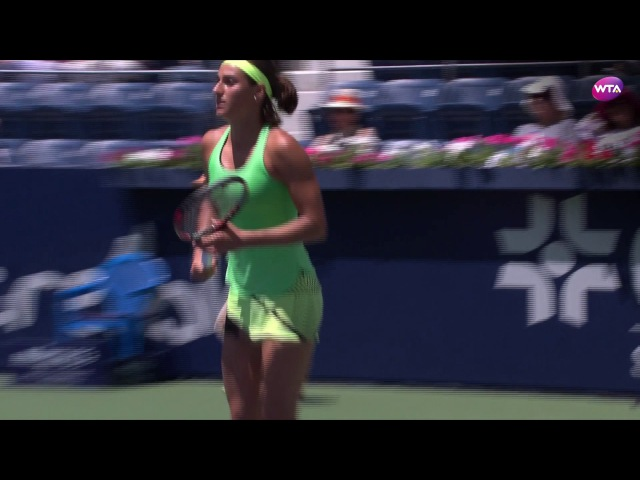 2017 Abierto GNP Semifinal | Anastasia Pavlyuchenkova v Caroline Garcia | WTA Highlights