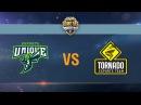 Tornado Energy vs UNIQUE - day 1 week 6 Season II Gold Series WGL RU 2016/17