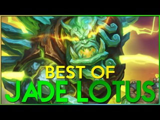 BEST OF JADE LOTUS! Hearthstone Funny Lucky Plays and Moments!