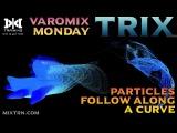 VMT 012 - HOUDINI - Particles Follow a Curve