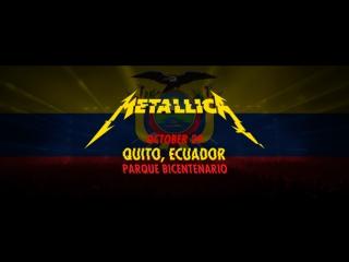 Metallica: harvester of sorrow (metontour - quito, ecuador - 2016)