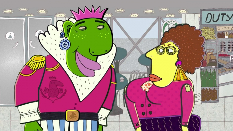 Везуха! - Принц Папуака (Серия 24) Мультфильм для детей и взрослых