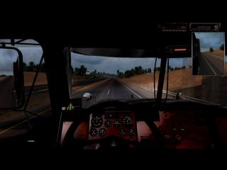 American truck simulator[fast motion]