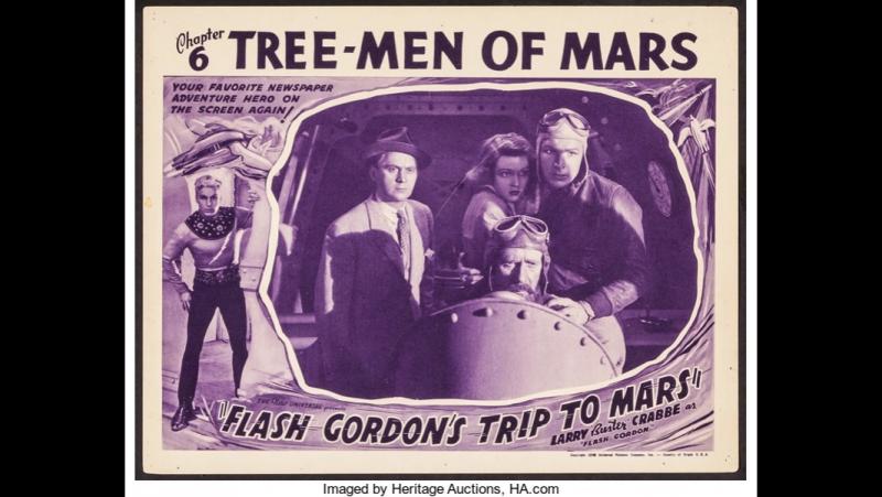 Путешествие Флеша Гордона на Марс (1938) epi 6 - Tree-men of Mars
