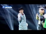 FANCAM 170516 Выступление Lee Ki Won с N'Sync - Pop @ Mnet Official