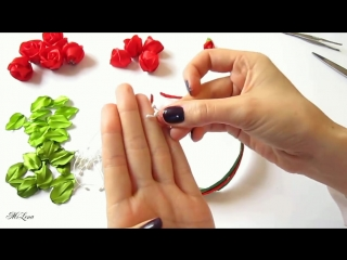 ОБОДОК С РОЗАМИ, МК _ DIY Roses Headband