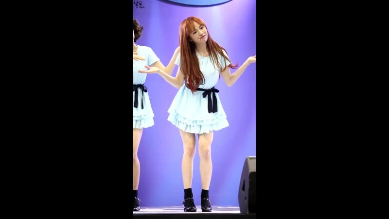 160102 Infinity Challenge Expo  OH MY GIRL - Cupid [Jine focus]
