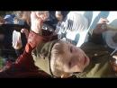 сынок кушает армейскую кашу