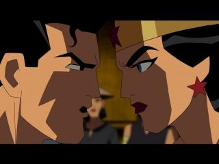 Justice League: The New Frontier \\ Лига справедливости: Новый барьер [ 2008 ]