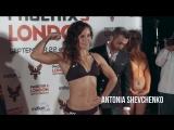 Antonina Shevchenko vs. Anissa Haddaoui - Weighin Face-Off - Phoenix3, London