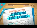 Studying for Exams Crash Course Study Skills 7