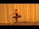 Минкус. Вариации Китри из балета Дон Кихот. Исп.Омарбекова Кульжан.