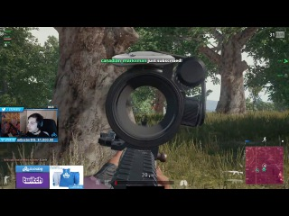 PLAYERUNKNOWN'S BATTLEGROUNDS - Shroud Kills 2 Squads with no HP