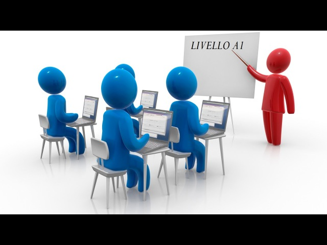 Урок 41, итальянский язык. Тест на уровень А1. Test livello A1.