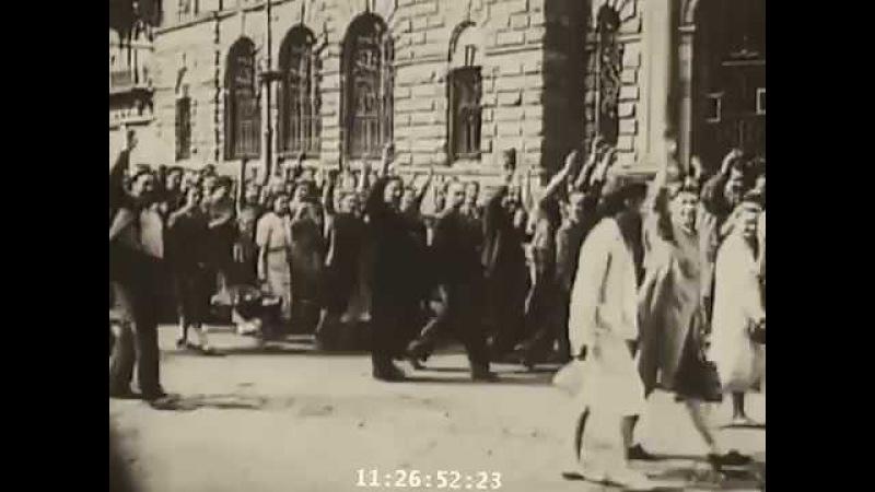 Кадры кинохроники Начало войны 1941г