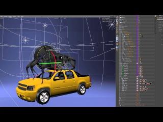 Technical - rigging reel Ace5 studios ( Cinema 4D )