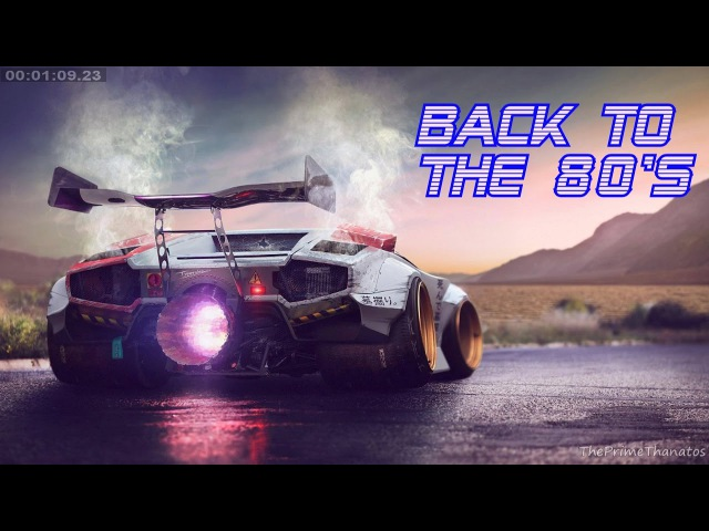 'Back To The 80's' Best of Synthwave And Retro Electro Music Mix for 2 Hours Vol 5