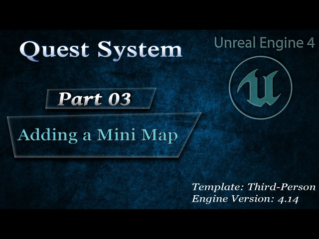 Complex Quest System: Adding a Mini Map 03