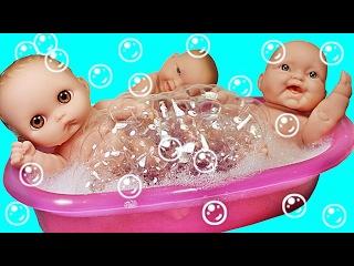 Куклы Пупсик Поет Песенку Пальчики Купаются В Ванной Пукают Игрушки для Детей ...