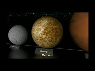Comparação de tamanhos dos planetas by Discovery Channel