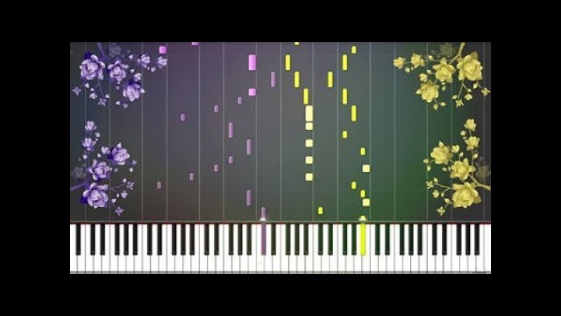 Flower Dance (花のダンス) - DJ Okawari [Piano Tutorial] (Synthesia) Pianubi