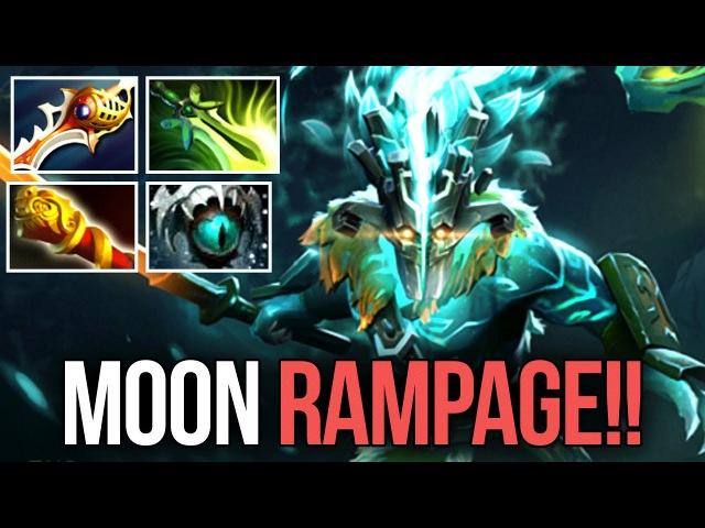 DC.Moon EPIC Juggernaut Arcana Rampage vs. Mega Creeps Dota 2