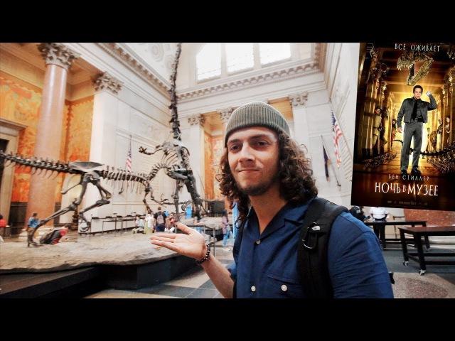 Где снимался фильм Ночь в музее