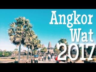 Храмовый комплекс храм Angkor Wat . Самые большие Барельефы в мире. Cambodia