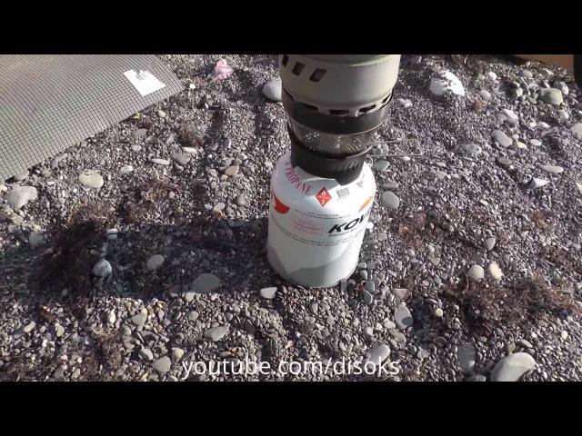 Горелка MSR WindBoiler походный обзор и тест