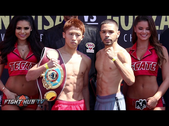 FULL UNEDITED- NAOYA INOUE VS ANTONIO NIEVES WEIGH IN AND FACE OFF VIDEO