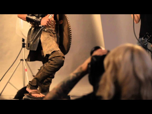 Behind the Scenes at a Harlequin Cover Shoot To Tempt a Viking Harlequin TV