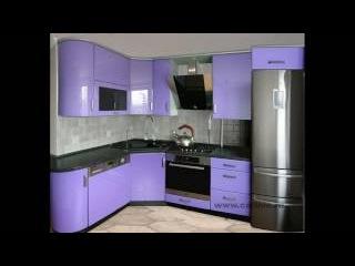 Малогабаритные кухни 7 кв м фото угловые с холодильником