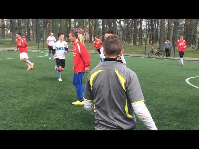 Чемпіонат ДФ Футзал АДФ Волинь моменти гри Альянс- Козаки 3:5