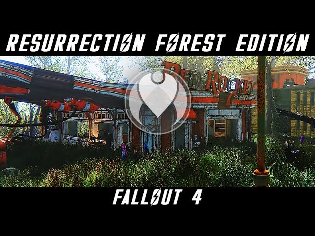 RESURRECTION FOREST EDITION Fallout 4 Ultra High ENB Photoreal Graphics Nvidia GTX 1080