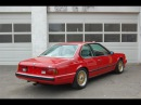1988 BMW 635 csi E24 M6 Restoration Project