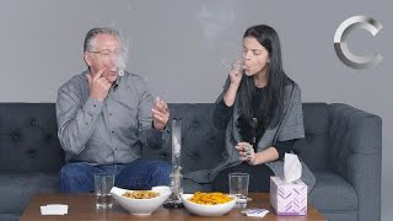 Parents Kids Smoke Weed Together for the First Time   Strange Buds   Cut