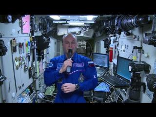 Экипаж МКС посмотрел блокбастер