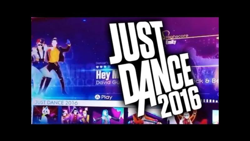 Just Dance 2016 Приготовьтесь к Just Dance Unlimited! RU