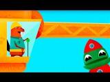 Подъёмный Кран для детей и весёлое строительство - Развивающая детская игра Блоки Капу