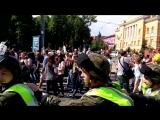 Киев, 18 июня, 2017 . Гей-парад