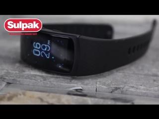 Фитнес-браслет Samsung Gear Fit2 Pro ( www.sulpak.kz )