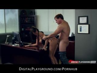 Грудастую секретаршу Franceska Jaimes ебет ее босс Milf Anal full hd porn секс порно xxx hardcore милфа оргия