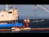 У берегов Сахалина проходят российско-японские учения пограничников