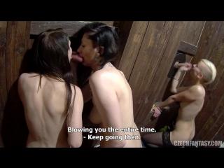 Czech fantasy 9 part 6group sex porno2016hd oral anal чешское gangbang cum шлюхи бордель ебут шлюх толпой кончают в дырки сосут