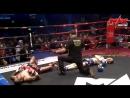 Обоюдный нокаут в поединке по правилам тайского бокса