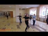 Татьяна Сероглазова. Женская техника в русском танце: вращения, дроби. Dance_Погружение. Лето-2016