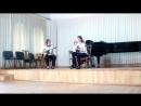 Ананьева Светлана и Жирная Екатерина — А.Вивальди Концерт ля минор