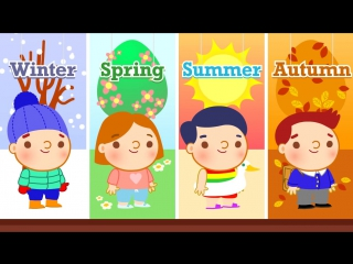 If You Know All the Seasons ¦ Four Seasons Song for Kids ¦ The Kiboomers
